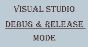 تفاوت debug و release